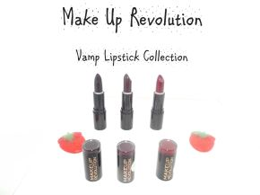 Make Up Revolution Vamp Lipsticks