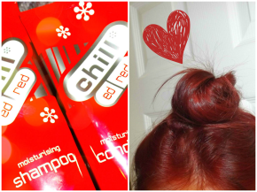 Maintaining red hair: Chill* Ed Red